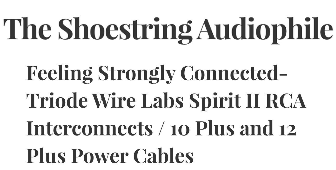 Reviews - Triode Wire Labs
